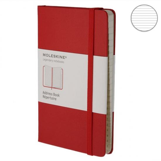Фото - Блокнот Moleskine Creative карманный Азбука Красный купить в киеве на подарок, цена, отзывы