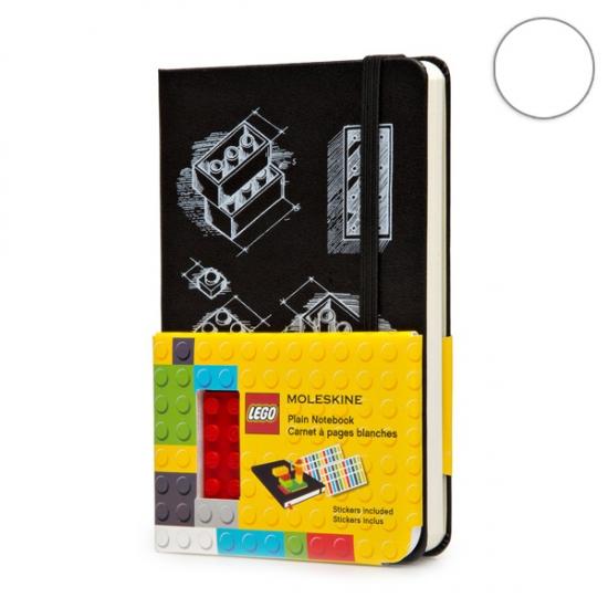 Фото - Блокнот Moleskine LEGO-14 карманный нелинованные Черный купить в киеве на подарок, цена, отзывы