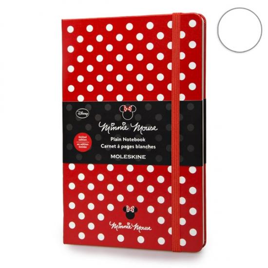 Фото - Блокнот Moleskine Minni Mouse средний нелинованные Красный купить в киеве на подарок, цена, отзывы