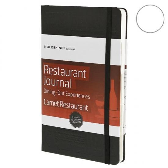 Фото - Блокнот Moleskine Passion Рестораны средний черный купить в киеве на подарок, цена, отзывы