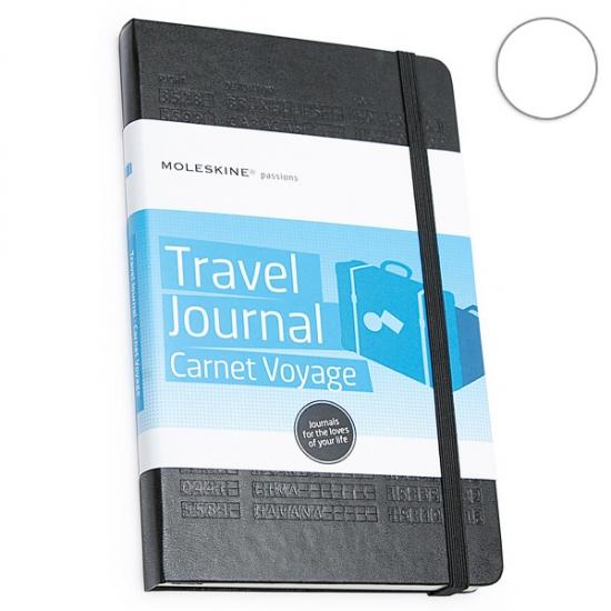 Фото - Блокнот Moleskine Passion Travel Journal средний черный купить в киеве на подарок, цена, отзывы