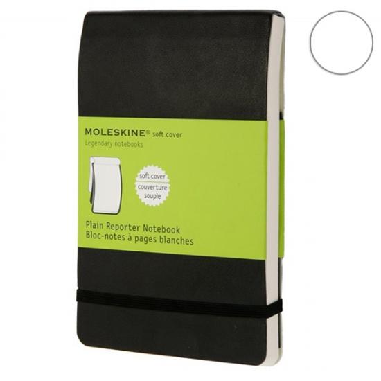 Фото - Блокнот Moleskine Reporter green маленький черный  купить в киеве на подарок, цена, отзывы