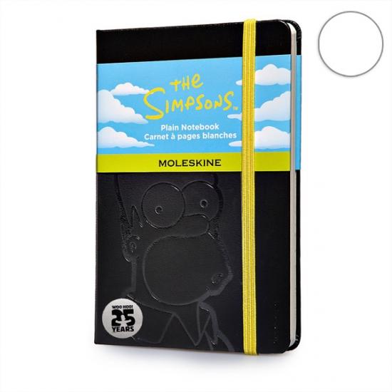 Фото - Блокнот Moleskine Simpson карманный нелинованные Черный купить в киеве на подарок, цена, отзывы
