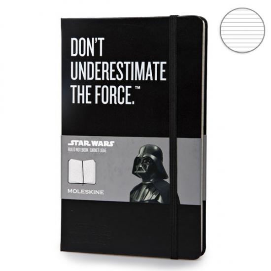 Фото - Блокнот Moleskine Star Wars средний Линейка Черный купить в киеве на подарок, цена, отзывы