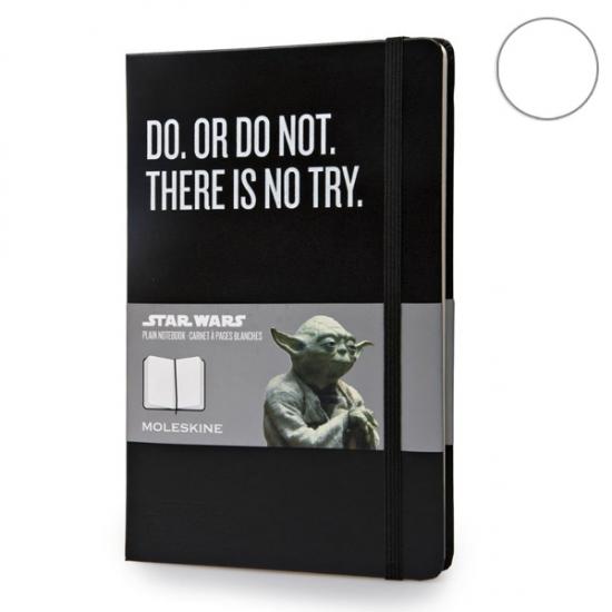 Фото - Блокнот Moleskine Star Wars средний нелинованные Черный купить в киеве на подарок, цена, отзывы