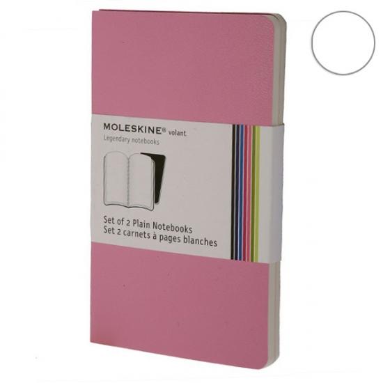 Фото - Блокноты Moleskine Volant 2 шт маленькие розовые купить в киеве на подарок, цена, отзывы