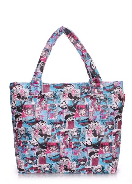 Фото - Болоньевая сумка на синтепоне Comics купить в киеве на подарок, цена, отзывы
