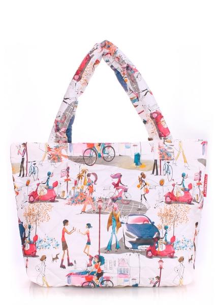 Фото - Болоньевая сумка на синтепоне Girl купить в киеве на подарок, цена, отзывы