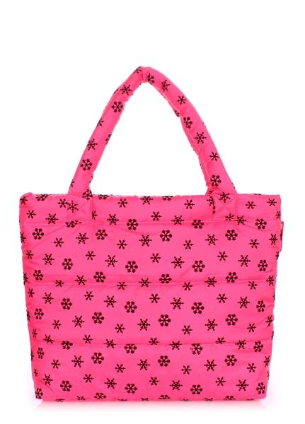 Фото - Болоньевая сумка на синтепоне Snow Pink купить в киеве на подарок, цена, отзывы
