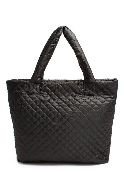 Фото - Болоньевая сумка на синтепоне черная Eco  купить в киеве на подарок, цена, отзывы