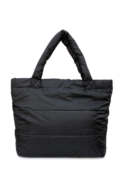 Фото - Болоньевая сумка на синтепоне черная Pool купить в киеве на подарок, цена, отзывы