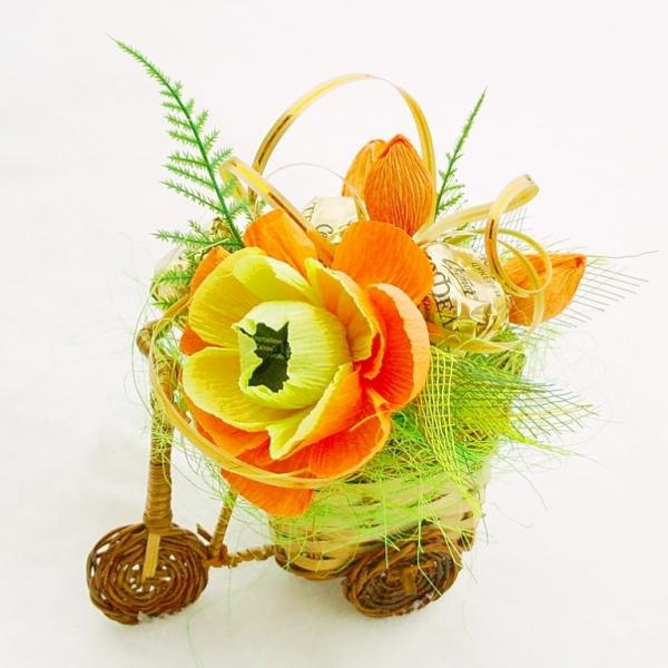 Фото - Букет из конфет Лучик купить в киеве на подарок, цена, отзывы