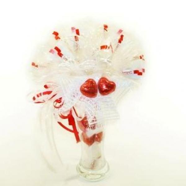 Фото - Букет из конфет Любимой купить в киеве на подарок, цена, отзывы