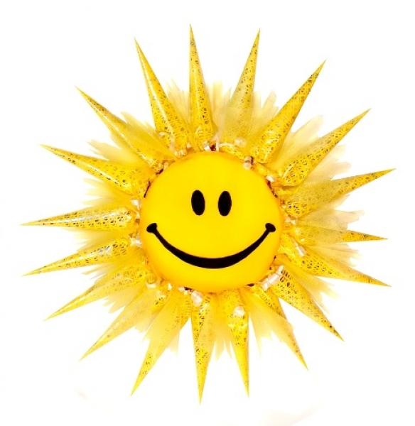 Фото - Букет из конфет Солнышко купить в киеве на подарок, цена, отзывы