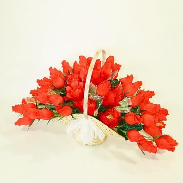 Фото - Букет из конфет Юбилейный купить в киеве на подарок, цена, отзывы