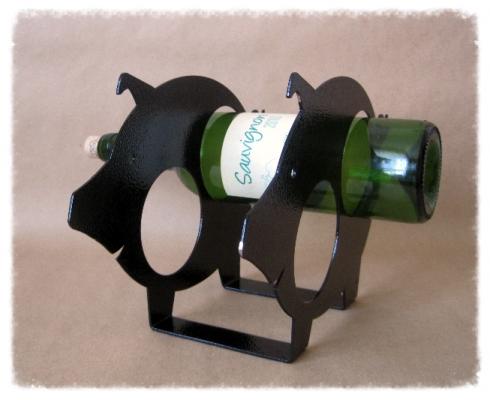 Фото - Бутылкодержатель Свинка купить в киеве на подарок, цена, отзывы
