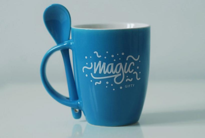 Фото - Чашка+ложка Magic купить в киеве на подарок, цена, отзывы