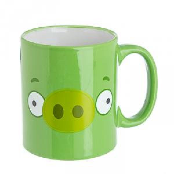 Фото - Чашка Angry Birds салатовая купить в киеве на подарок, цена, отзывы