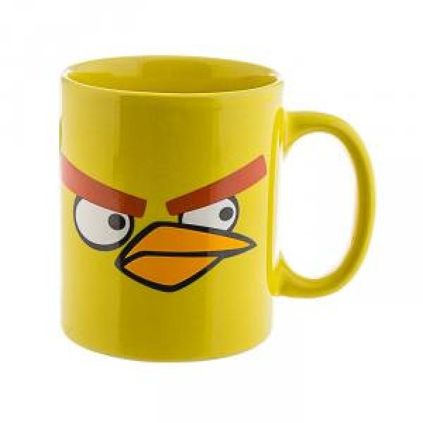 Фото - Чашка Angry Birds желтая купить в киеве на подарок, цена, отзывы