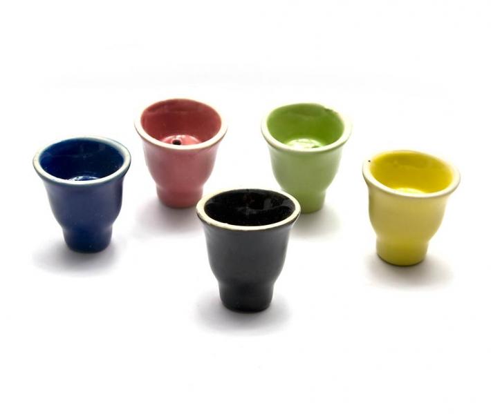 Фото - Чашка для кальян керамическая (6 СМ) купить в киеве на подарок, цена, отзывы