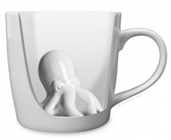 Фото - Чашка осьминог купить в киеве на подарок, цена, отзывы