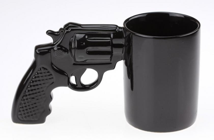 Фото - Чашка револьвер большая купить в киеве на подарок, цена, отзывы