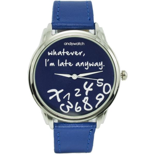 Фото - Часы наручные I am late blue купить в киеве на подарок, цена, отзывы