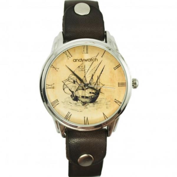 Фото - Часы наручные Ретро Парусник  купить в киеве на подарок, цена, отзывы
