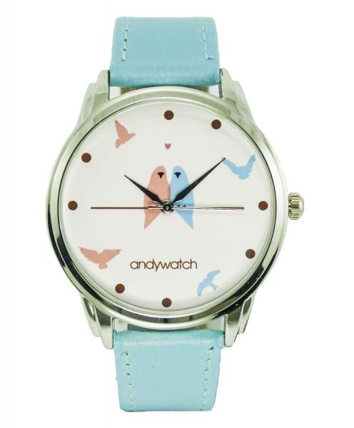 Фото - Часы наручные  Влюбленные птички купить в киеве на подарок, цена, отзывы