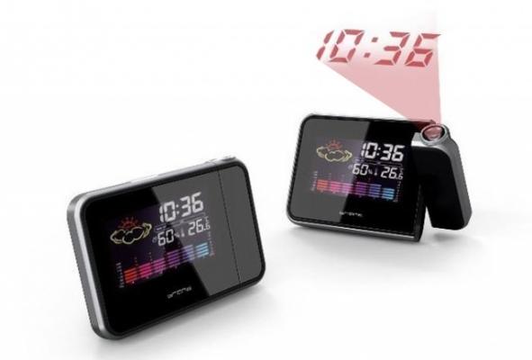 Фото - Часы метеостанция с проектором времени купить в киеве на подарок, цена, отзывы