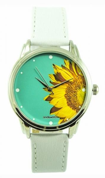 Фото - Часы наручные подсолнух купить в киеве на подарок, цена, отзывы