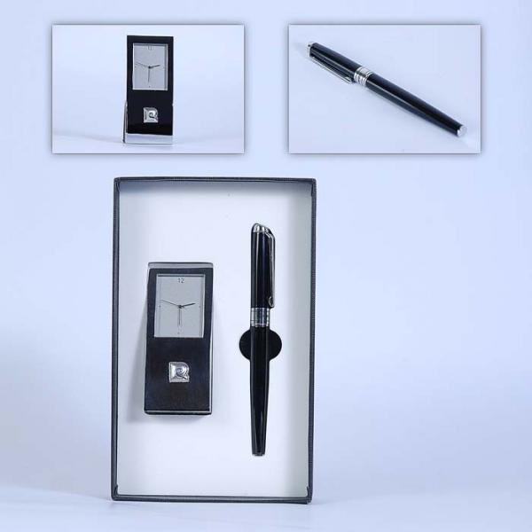 Фото - Часы настольные+ручка Pierre Cardin купить в киеве на подарок, цена, отзывы