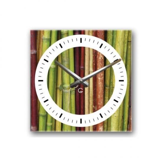 Фото - Декоративные настенные часы Bamboo купить в киеве на подарок, цена, отзывы