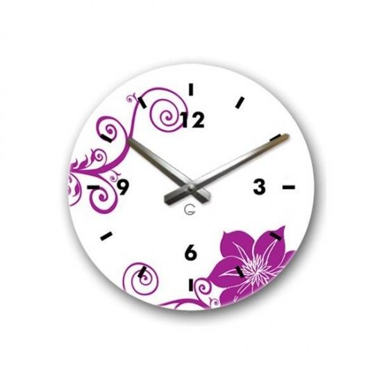 Фото - Декоративные настенные часы Orchid купить в киеве на подарок, цена, отзывы