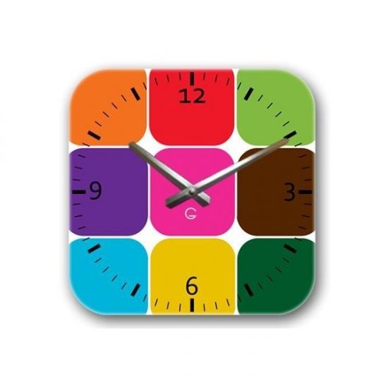 Фото - Декоративные настенные часы Palette купить в киеве на подарок, цена, отзывы