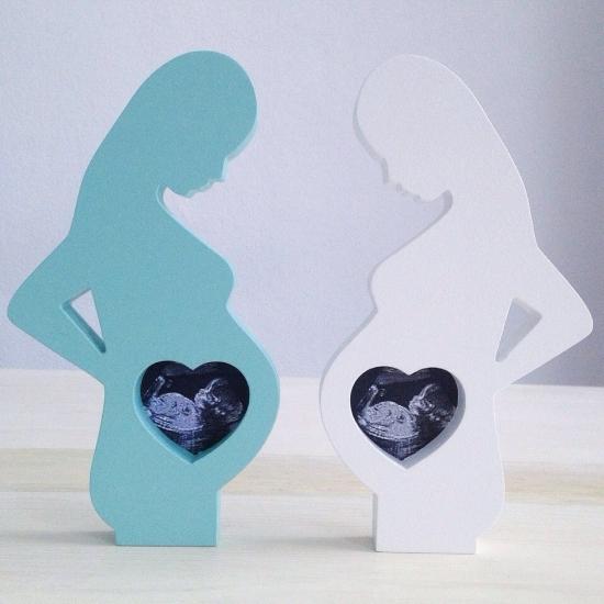 Фото - Деревянная фоторамка Для беременных купить в киеве на подарок, цена, отзывы