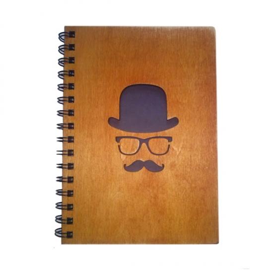 Фото - Деревянный блокнот Дело в шляпе купить в киеве на подарок, цена, отзывы