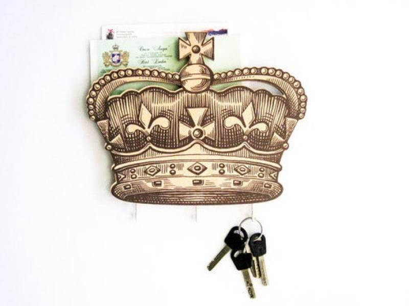 Фото - Держатель Британская корона купить в киеве на подарок, цена, отзывы