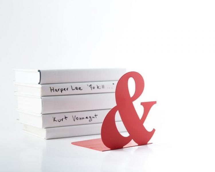 Фото - Держатель для книг Амперсанд купить в киеве на подарок, цена, отзывы