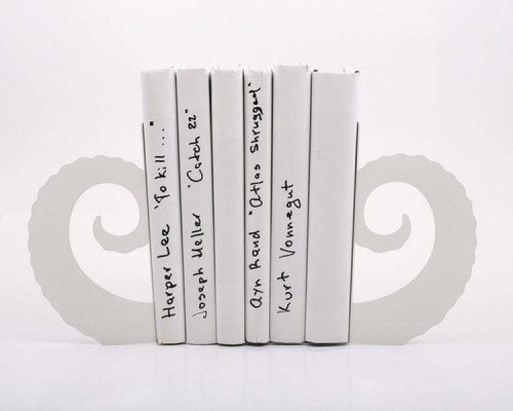 Фото - Держатель для книг Бараний рог купить в киеве на подарок, цена, отзывы