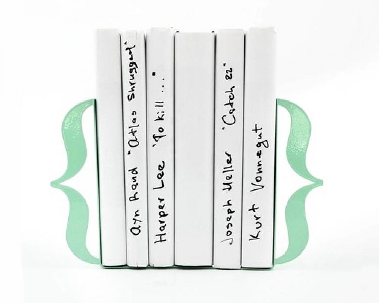 Фото - Держатель для книг Brackets мятно-бирюзовый купить в киеве на подарок, цена, отзывы
