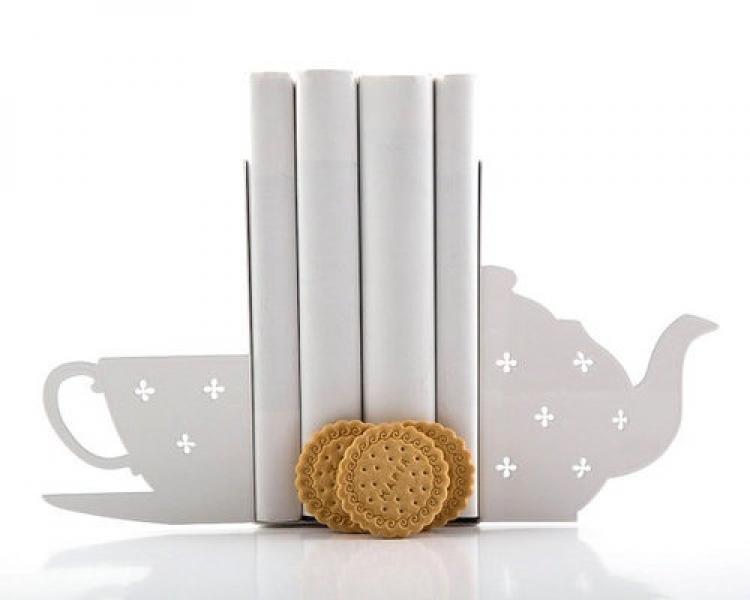 Фото - Держатель для книг Чашка чая купить в киеве на подарок, цена, отзывы