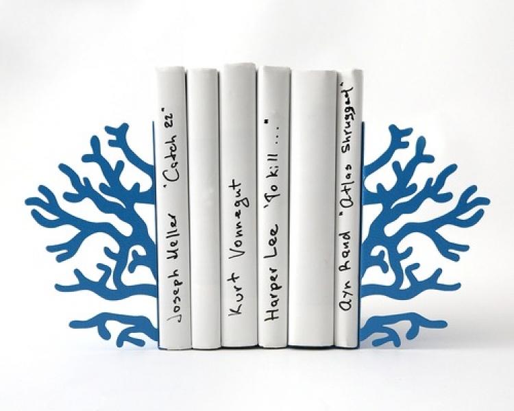 Фото - Держатель для книг Голубой коралл купить в киеве на подарок, цена, отзывы