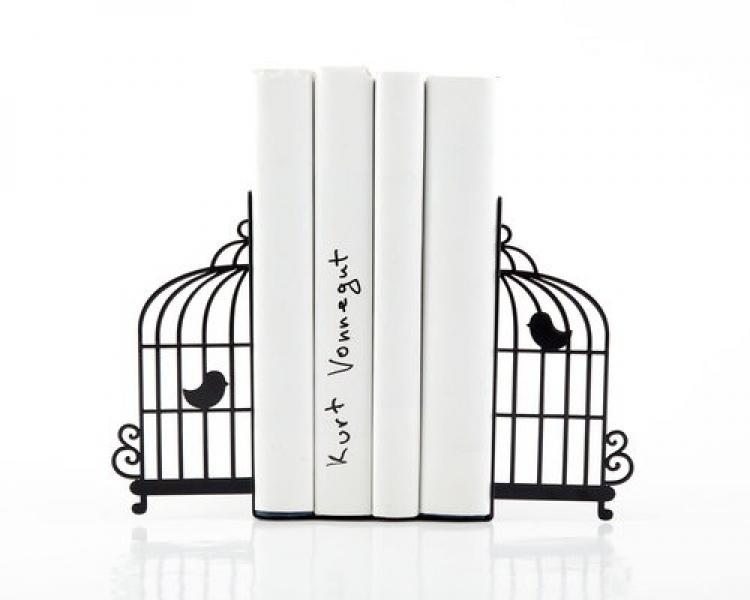 Фото - Держатель для книг Клетка с птицами купить в киеве на подарок, цена, отзывы
