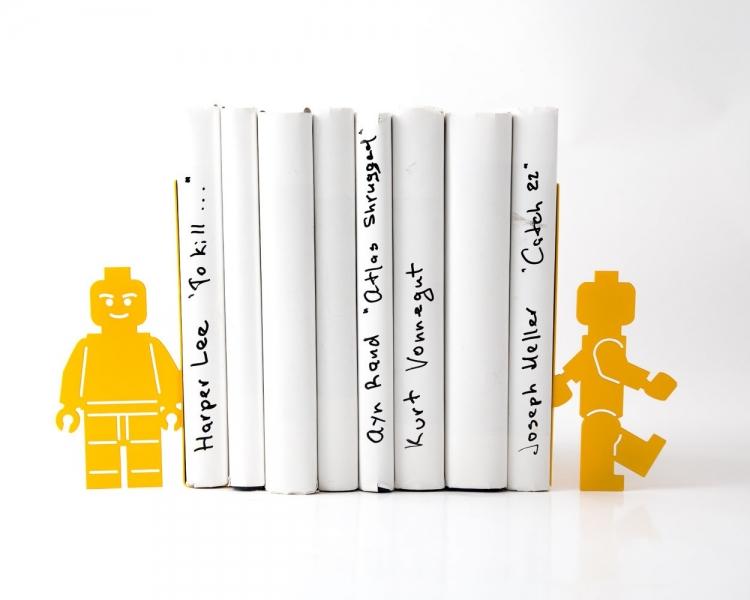 Фото - Держатель для книг Lego Man купить в киеве на подарок, цена, отзывы