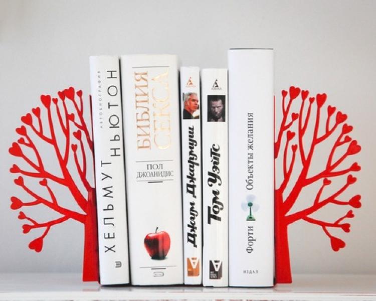 Фото - Держатель для книг Любовь и Книги купить в киеве на подарок, цена, отзывы