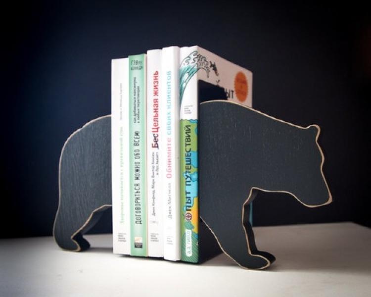 Фото - Держатель для книг Медведь купить в киеве на подарок, цена, отзывы