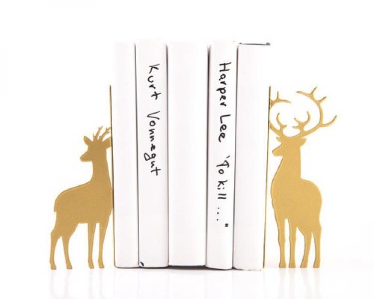 Фото - Держатель для книг Оленья пара купить в киеве на подарок, цена, отзывы