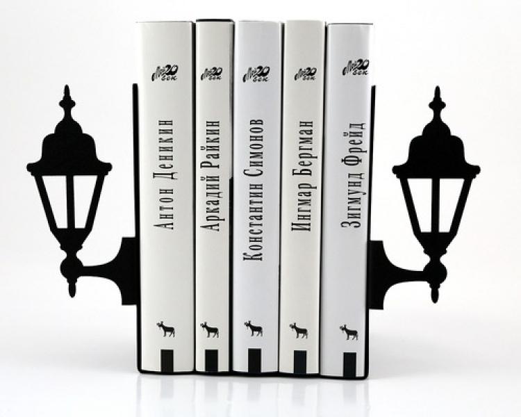 Фото - Держатель для книг Петербургские фонари купить в киеве на подарок, цена, отзывы