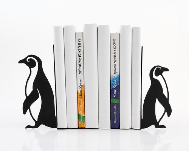 Фото - Держатель для книг Пингвины купить в киеве на подарок, цена, отзывы